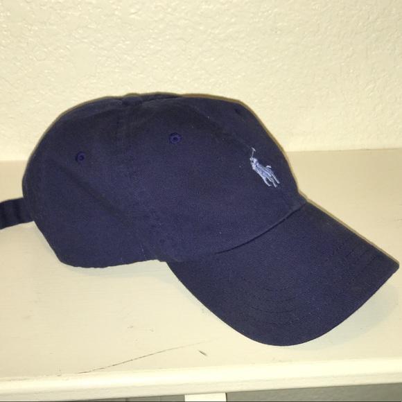 79741a2358e8 Navy blue Polo Hat. M 5ac0333bfcdc310c8d0affb8